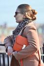 Elche-boots-asos-dress-kira-plastinina-coat-orsay-scarf-celine-bag