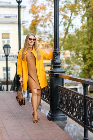 Zara coat - asos pumps