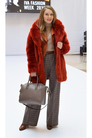 BonPrix jacket - hm coat - insity bag