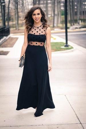 black jill jill stuart dress