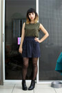 Black-h-m-boots-charcoal-gray-american-apparel-skirt