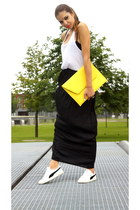 asos bag - Zara skirt - Puma sneakers