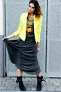 Black-all-saints-boots-chartreuse-zara-blazer-black-bf-t-shirt