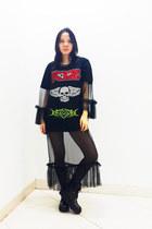 Zara boots - KTZ t-shirt