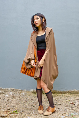 Danjyo Hiyoji cape - nightingale shoes - Adorable Projects bag - asos skirt