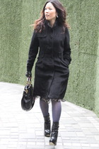 Aldo shoes - Jimmy Choo purse - Kenzo dress - Agatha accessories - Zara gloves