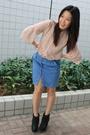 Express-jacket-see-by-chloe-blouse-balenciaga-purse-ras-shoes-cotton-on-