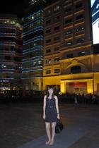 black Glitterati dress