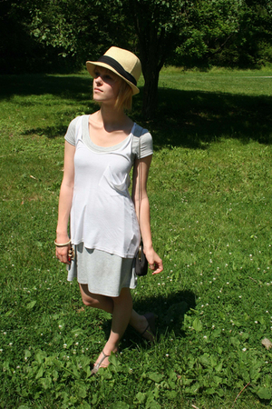 Urban Outfitters dress - - from paris shoes - vintage purse - Urban Outfitters