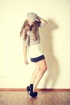 beige kangra cashmere dress - camel kangra cashmere blazer