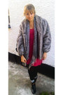 New-look-boots-topshop-dress-vintage-coat-accessorize-scarf