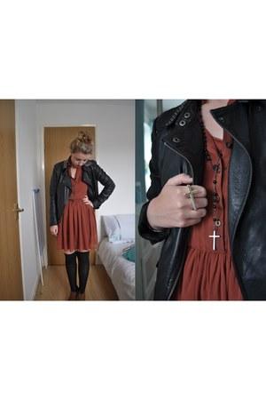 Topshop jacket - Primark dress