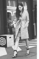trench coat Imogen coat - Zara sandals
