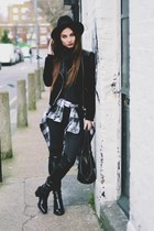 Zara boots - H&M jeans - Mango jacket