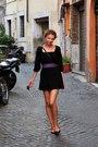 Black-newyorker-dress-black-gate-shoes-purple-accessories
