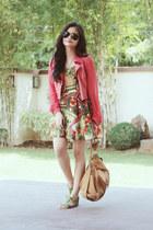 floral Trunkshow dress