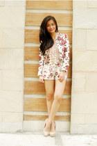 floral H&M jacket
