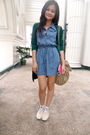 Blue-random-from-hong-kong-dress-green-borrowed-from-mom-cardigan-white-fore