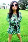 Green-blouse-white-sm-shorts-white-h-m-shoes-purple-h-m-sunglasses-black