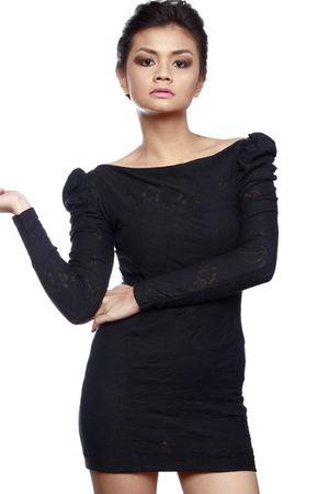 black Pink Manila dress
