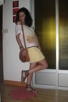 vintage belt - BLANCO purse - vintage shoes
