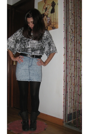 H&M skirt - Zara blouse