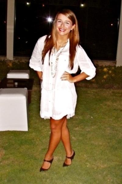 Zara dress - Forever21 shorts - Zara shoes - Alexa Koi necklace