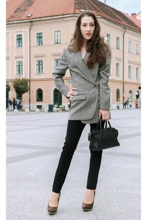 gray ERIKA CAVALLINI blazer