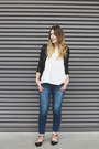 H-m-shoes-american-eagle-jeans-forever-21-jacket-zara-top