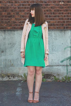 Jacob dress - Jeffery Campbell shoes - Gap coat