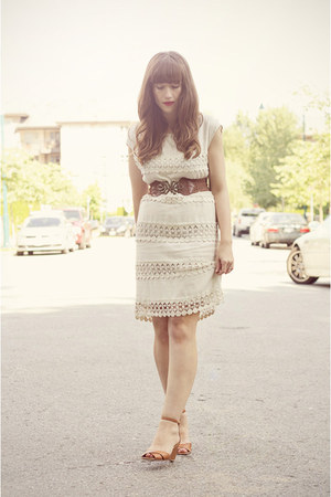 Jigsaw dress - Jeffrey Campbell shoes - modcloth belt
