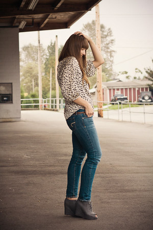 Jeffrey Campbell shoes - American Eagle jeans