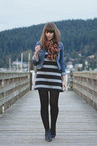 H&M jacket - Old Navy boots - Old Navy dress