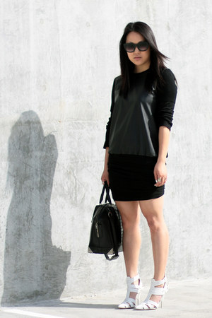 602ce63ce7b7 black Zara shirt - white Alexander Wang shoes - black emile Alexander Wang  bag