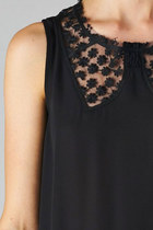 Peek-a-Bow Lace Top