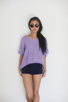 VERYHONEYCOM shirt - rayban sunglasses