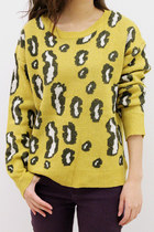 CHUNKY LEOPARD SWEATER FOR ALL