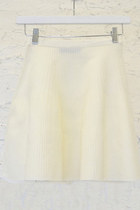 FLARED FLUTED MQ SKIRT (MORE COLORS)