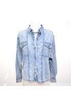 Acid Billy Denim Loose Fit Shirt