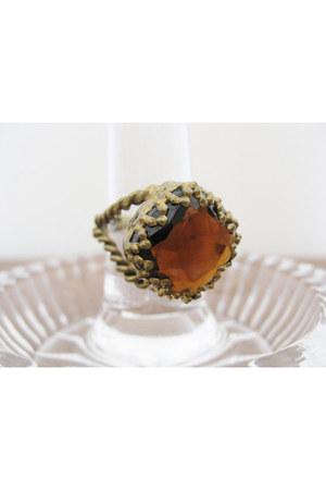 bronze Vintage West Germany ring