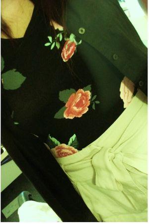H&M shorts - H&M blouse - H&M dress