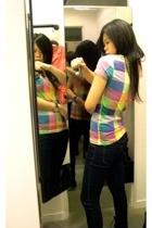 H&M t-shirt - Topshop pants
