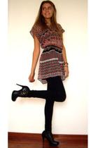 vintage from Ebay dress - Topshop shoes - Levis belt