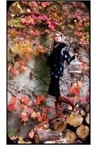 Topshop pants - Zara boots - from my grandmather sweater - Mango scarf