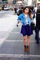blue Urban Outfitters jacket