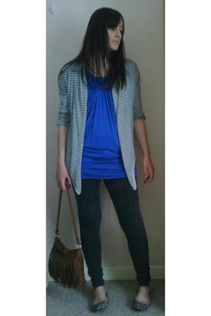 Matalan top - Primark sweater - Topshop jeans - Primark accessories - Primark sh