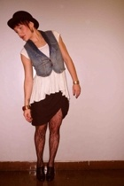 Silence & Noise shirt - BDG vest - Neal Sperling skirt - Varda shoes - Forever21