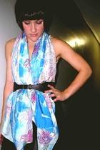samantha margherita scarf - Theory belt - Prada shoes