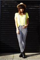 H&M jeans - Topshop boots - H&M top
