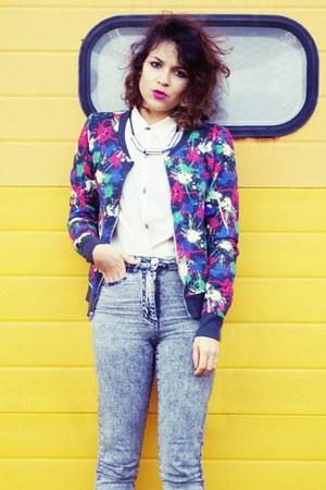 H&M jacket - H&M jeans